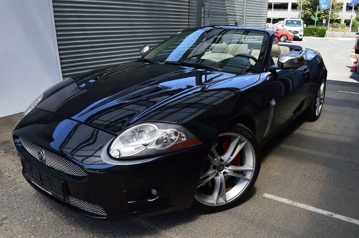 Jaguar XKR 4,2 S/C Cabrio bei GB PREMIUM CARS in